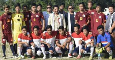 Itanagar : 7 A side soccer tournament for HIV AIDS awareness begins