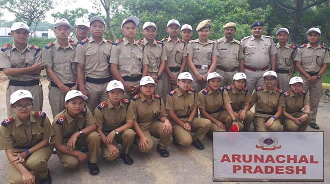 Arunodaya HSS Students participates 'Student Police Cadet' launching programme at Gurugram