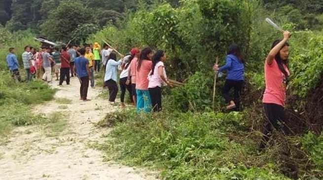 Arunachal: Awareness for Survekshan Gramin 2018 in Sagalee and Mengio Block