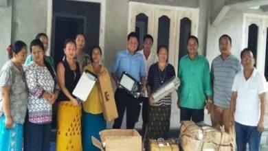 Photo of Arunachal: Biyuram donates street lights for Seijosa town