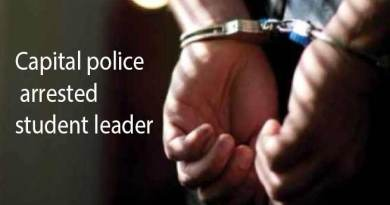 Itanagar: Capital police arrested student leader of Tirap