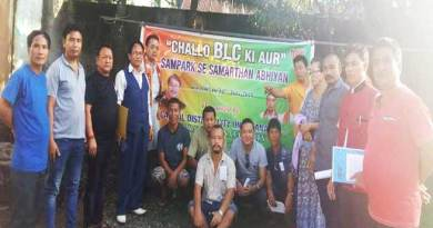"Itanagar:Capital unit BJP organise ""CHALO BLC KI OR"""