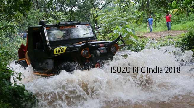 ISUZU RFC India 2018 : Chow Ujjal Namshum of Arunachal at 3rd spot after Day1