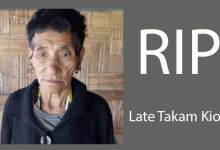 Photo of Arunachal: Takam Pario's mother passes away