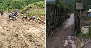 Arunachal: Roads and bridges in Changlang are in poor condition