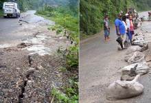 Photo of Arunachal: Cracks repaired on TAH, movement for light vehicle allowed