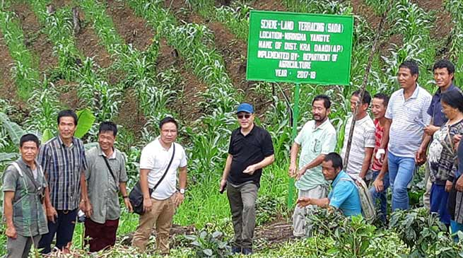 Agri-horti sector is most prosperous avenue in Arunachal Pradesh- DC KraDaadi