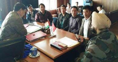 Tawang: ADSU team meet with SP, DC on Pema suicide case