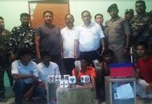 Photo of Itanagar: Police caught 5 gamblers with gambling materials and cash from Ganga Market