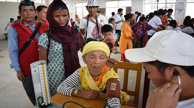 Arunachal: Jan Sunwai Sammelan held at Kimin of Papum Pare dist
