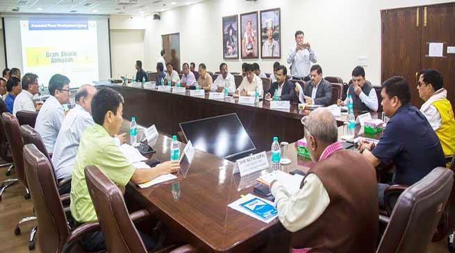 Arunachal: Khandu tells REC to work in tandem with Power dept