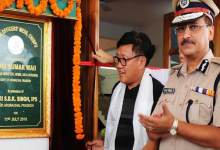 Arunachal: Kumar Waii inaugurates Police Officers' Mess and Walking Track
