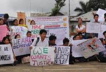 Photo of Itanagar: Students protest, demand Re-consideration of scholarship forms