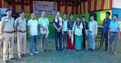 Arunachal : Sidisow attends Umang Festival in Bhalukpong