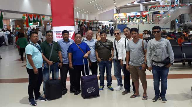 Asian Games-2018: AOA officials team left for Indonesia