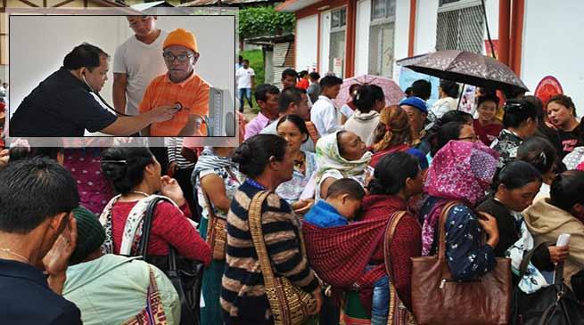 Arunachal: Phurpa brings Medical Camp at doorstep in Dirang
