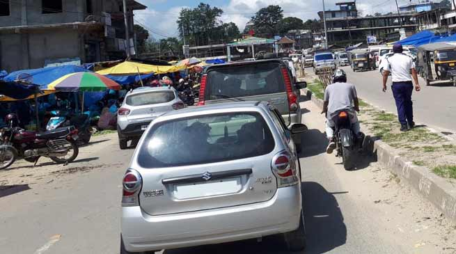 Itanagar: officials discusses Traffic Jam issue on NH-415