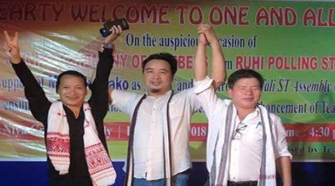 Arunachal:  I have faith in people of Tali constituency-Jikke Tako