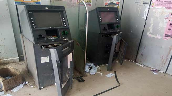 Itanagar :ATM loot attempt foiled in Naharlgun and Nirjuli