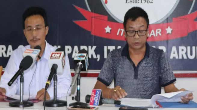 Arunachal: 10 days ultimatum on TAH issue