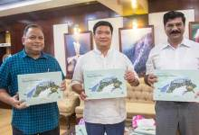 Itanagar : Khandu releases coffee table book 'Ecotourism potential and Forest Rest Houses of Arunachal Pradesh'