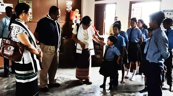 Arunachal:Commissioner CWD inspects Child Care Institutions run by OWA