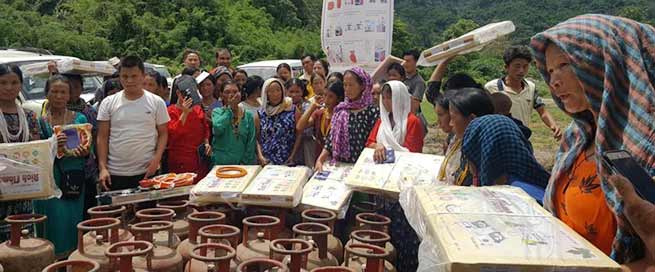 Arunachal: First time LPG reaches in remotest village of state