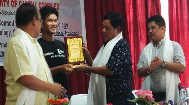 Arunachal: APSCS &T facilitates young InnovatorTadar Anang