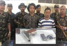Photo of Arunachal: 2 arrested while selling Pistol in a petrol depot at Banderdewa