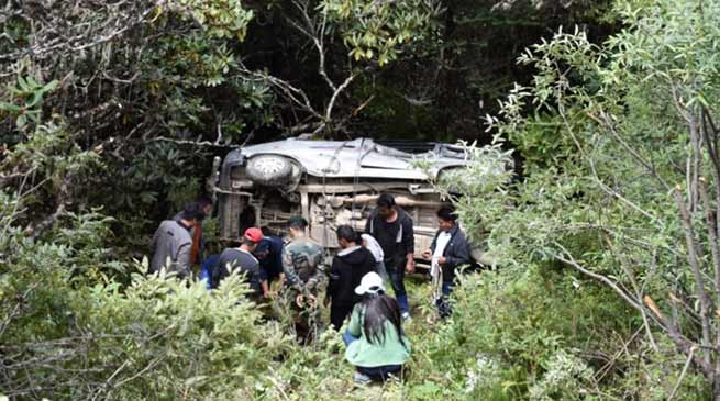Arunachal: Vehicle falls into gorge, Army rescued all passengers