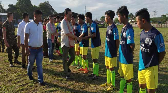 Arunachal: Need to encourage sports to thwart drug menace- Chowna Mein
