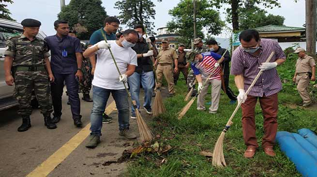 Arunachal : Make habit to keep our surroundings clean- Chowna Mein