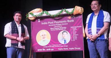 Arunachal: Khandu launches India Post Payments Bank