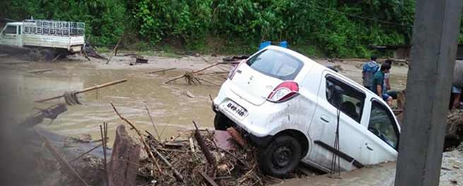 Arunachal: Trail of devastation takes place in capital complex- LIVE UPDATE