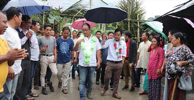 Arunachal: Techi Kaso inauguratesCC Pavement road