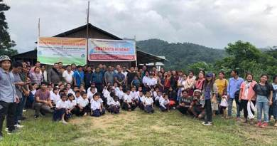 Arunachal: Mass Social Service held at Sangram village in Palin
