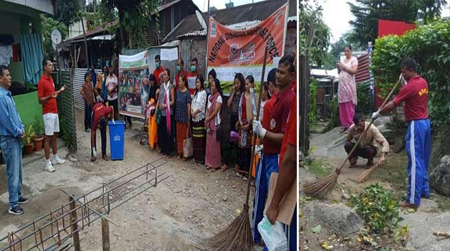 Arunachal: NDRF conducts door to door cleanliness drive