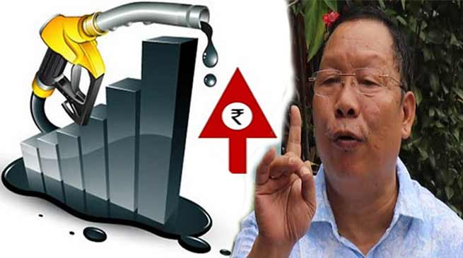 APCC calls for Arunachal Pradesh bandh against rising fuel prices on September 10