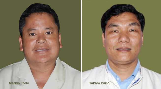 Arunachal: Pario and Tado joins congress,no MLA in PPA