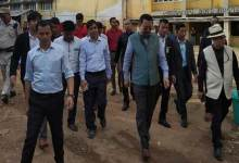 Photo of Arunachal Dy CM inspects Boys Hostel in NEFA building at Shillong