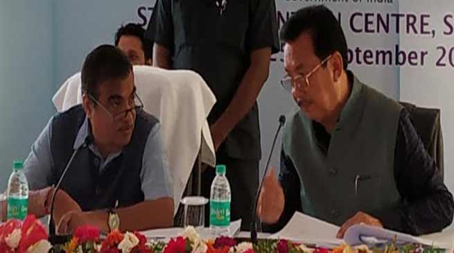 Arunachal: Dy CM Chowna Mein seeks sanction of Potin-Pangin Road