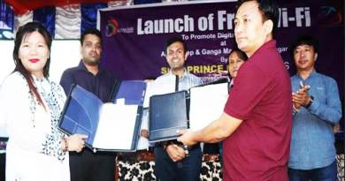 Itanagar: Now free WiFi facility in Ganga Market available