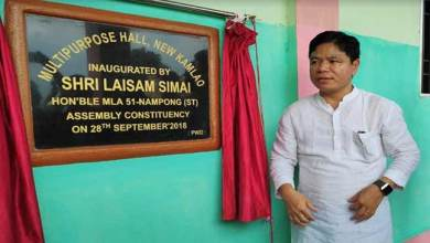 Photo of Arunachal: Laisam Simai inaugurates 3 projects in Nampong