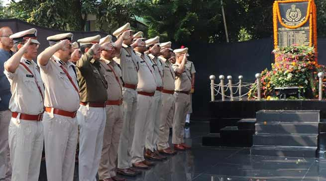 Arunachal: Police Commemoration Day celebrated at PTC