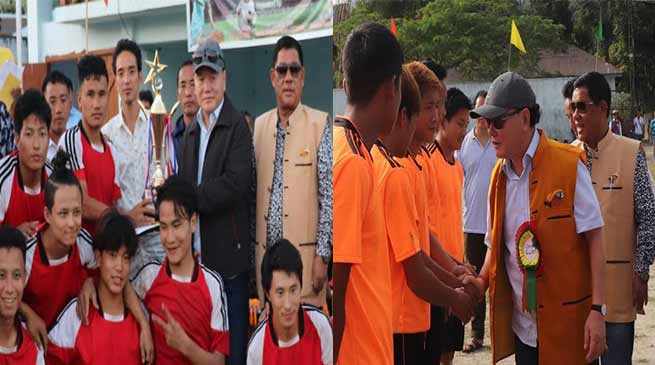 Arunachal: Durpa FC lift the VIIIth Inter Panchayat level football tournament -2018