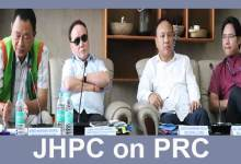 Photo of Arunachal: 3rd sitting of JHPC on PRC held