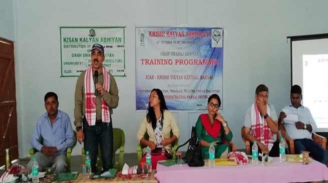 Arunachal: KVK Namsai Enlightened the Farmers under Krishi Kalyan Abhiyan