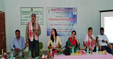 Arunachal: KVK Namsai Enlightened the Farmers under Krishi Kalyan Abhiyan