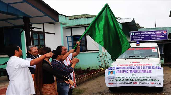 Itanagar: Doctors are next to god- MLA Techi Kaso