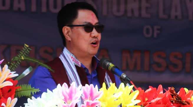 Arunachal:Rijiju concerned with delay, slow progress of PMGSY projects